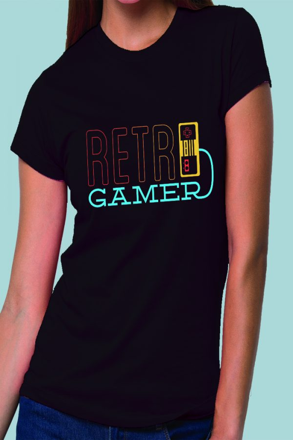 Retro Gamer Lady